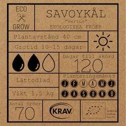 Savoykål Fröpåse