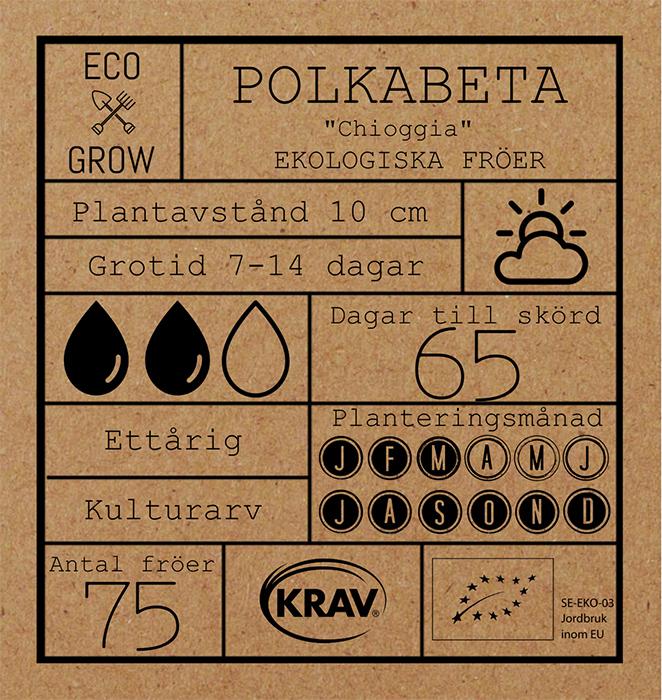 Polkabeta Fröpåse