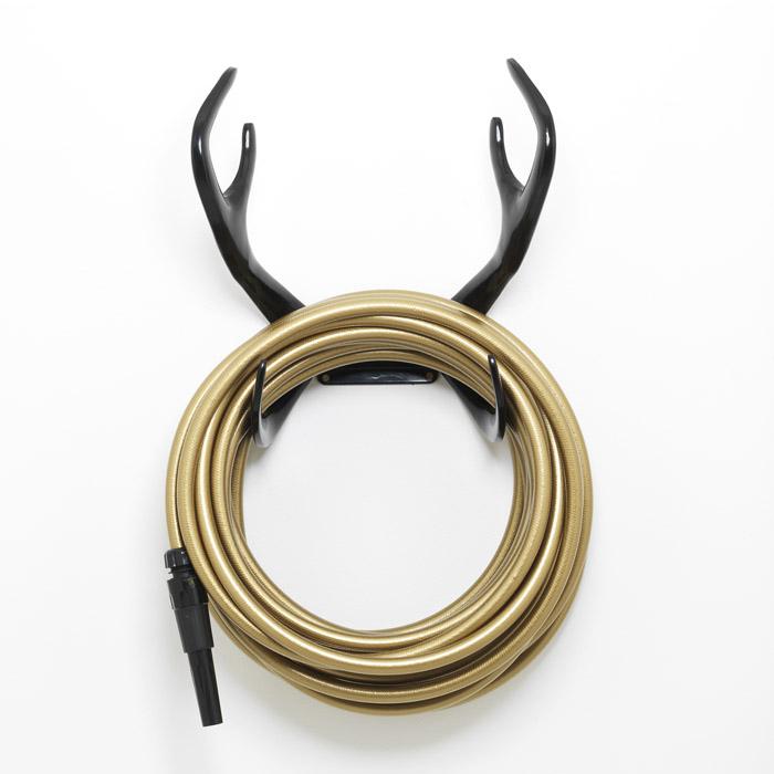 Reindeer Black Hose Holder