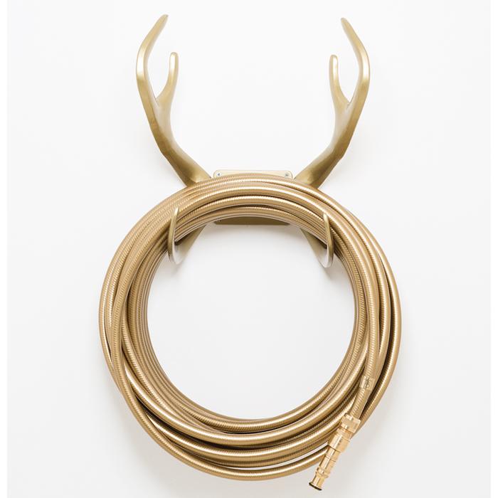 Reindeer Gold Hose Holder