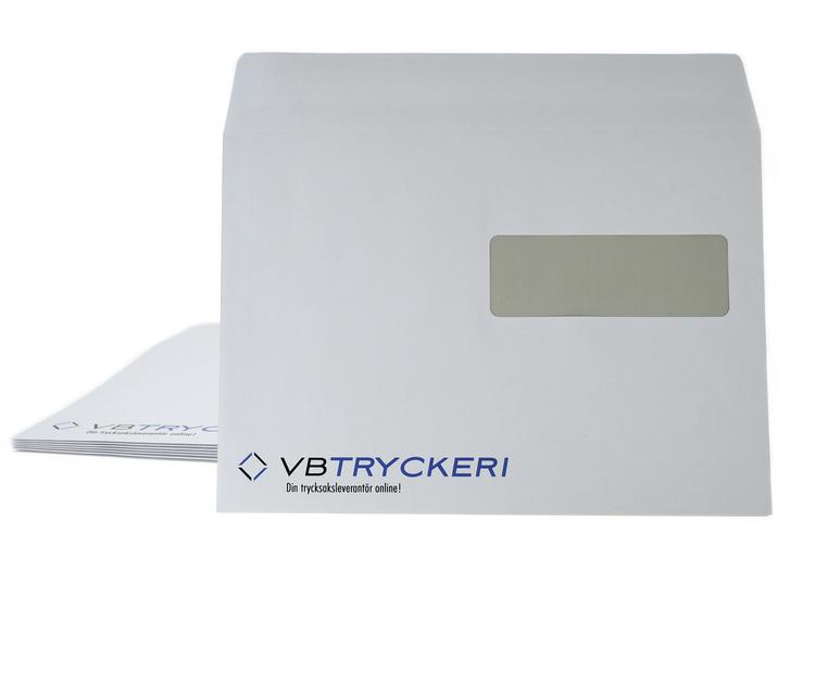 Kuvert - C5 Standard Med fönster