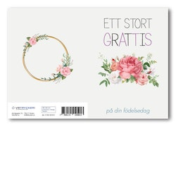 Grattiskort - White Cream