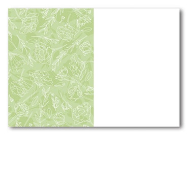 Grattiskort - White Cream