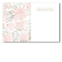 Grattiskort - White Rose