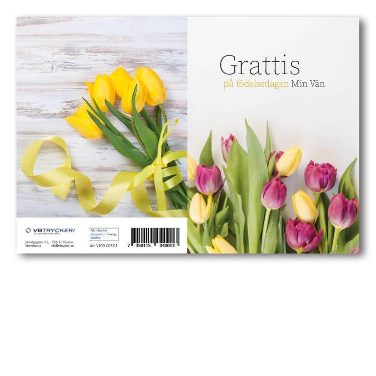 Grattiskort - Tulips