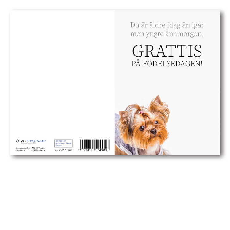 Grattiskort - Doggy