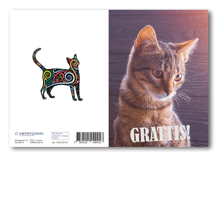 Grattiskort - Nice Cat