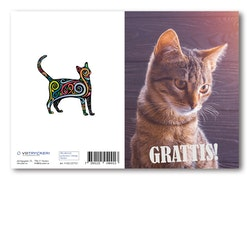 Grattiskort - Nice Cat