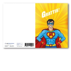 Grattiskort - Supermen