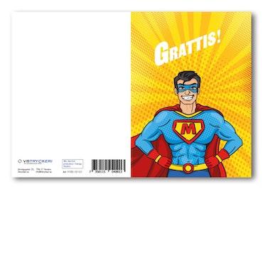 Grattiskort - Supermen