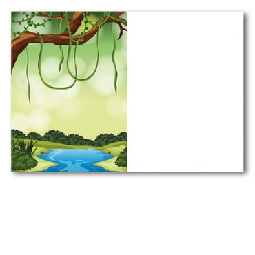 Grattiskort - Jungle