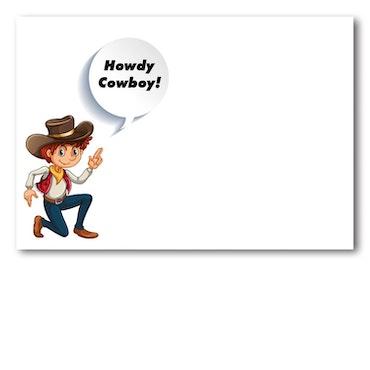 Grattiskort - Wild West