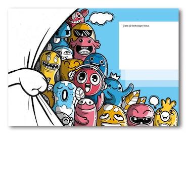 Grattiskort - Happy Group