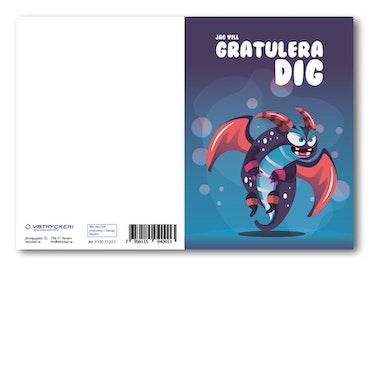 Grattiskort - Dragon