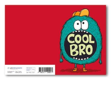 Grattiskort - Cool Bro