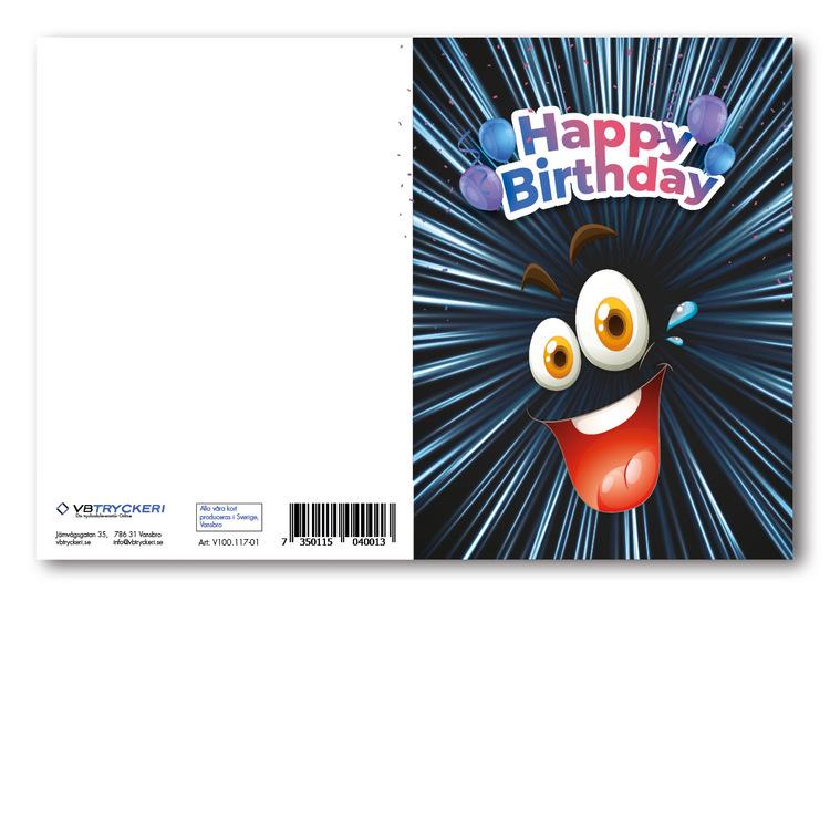 Grattiskort - Happy Face V100.117-01