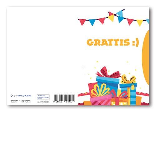 Grattiskort - Grattis