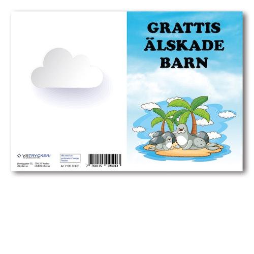 Grattiskort - Island