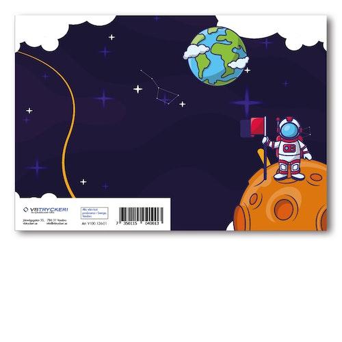Grattiskort - Space
