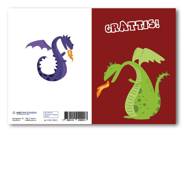 Grattiskort - Dragon V100.129-01
