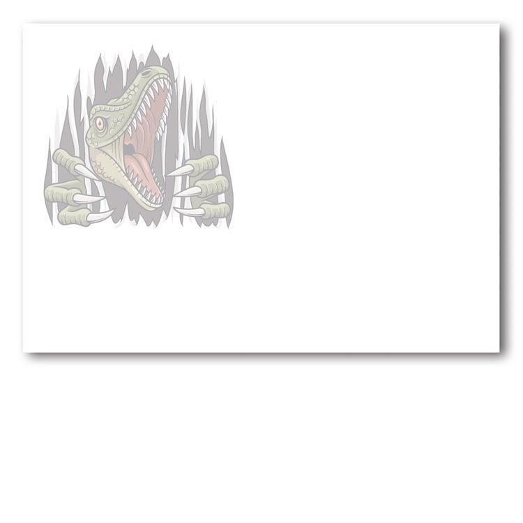 Grattiskort - Dino