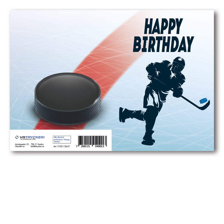 Grattiskort - Hockey