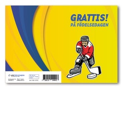Grattiskort - Hockey