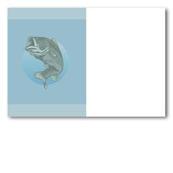 Grattiskort - Fishermen