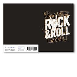 Grattiskort - Rockn Roll