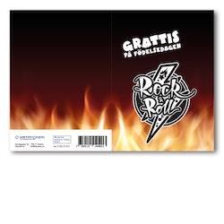Grattiskort - Rockn Fire