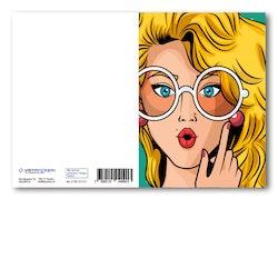 Grattiskort - GLAMOUR Girl Glasses V100.217-01