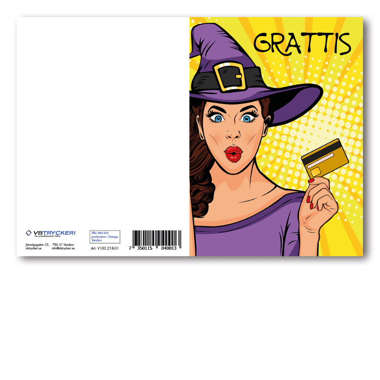 Grattiskort - GLAMOUR Girl Credit Card