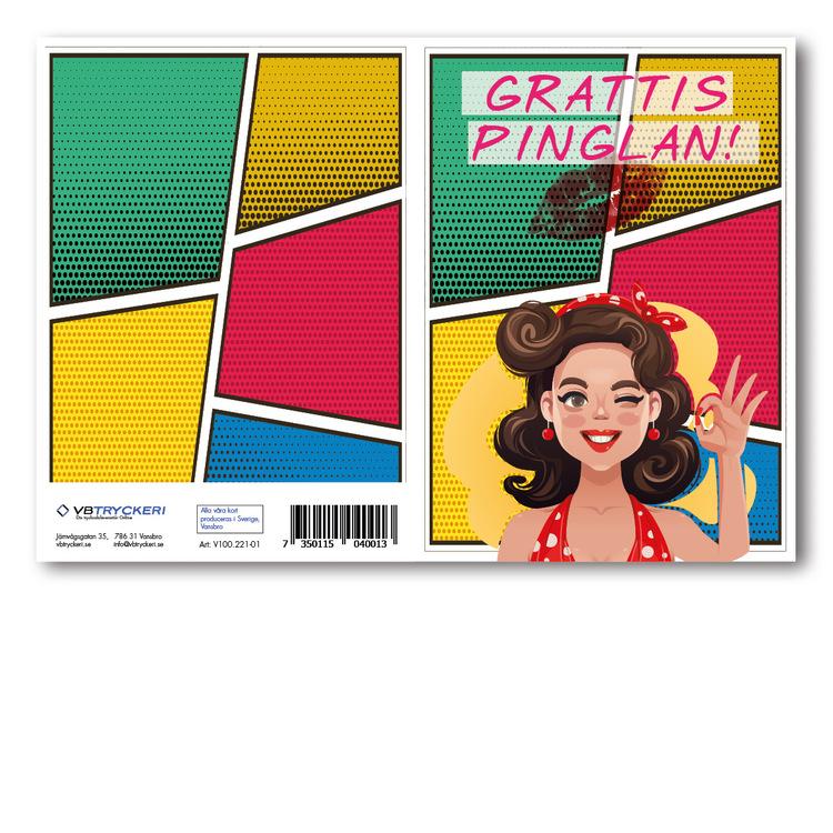 Grattiskort - GLAMOUR Girl