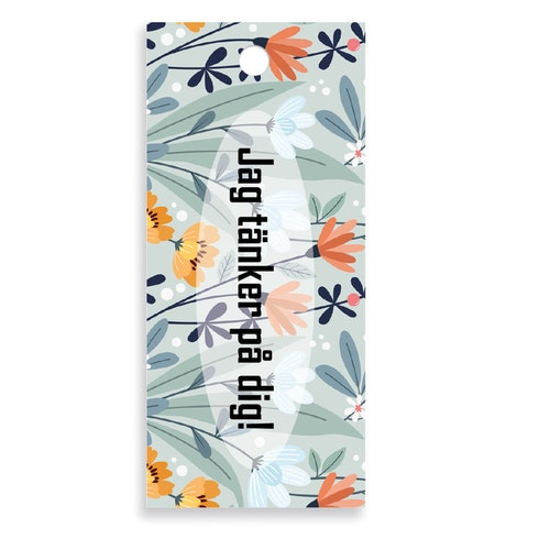 Bukettkort - Blommor