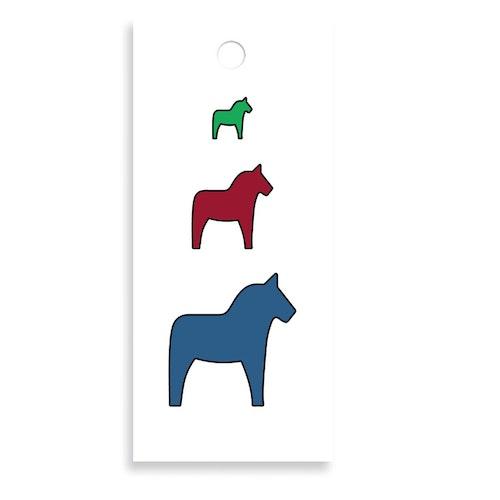 Bukettkort - Hästar