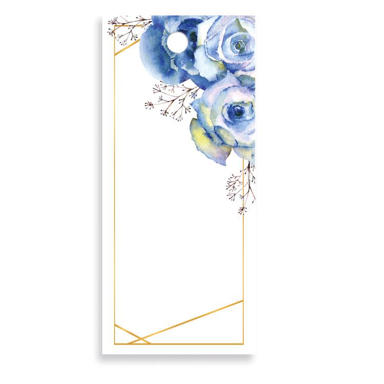 Bukettkort - Flower Blue V500.015-01