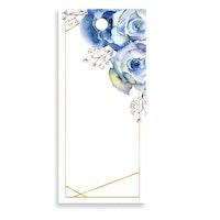 Bukettkort - Flower Blue