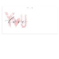 Mellanstort kort - Love