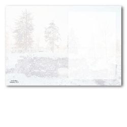 Grattiskort - Snöån utan text