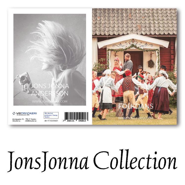 Grattiskort - Folkdans V110.016-01