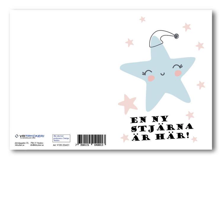 Grattiskort - En ny stjärna