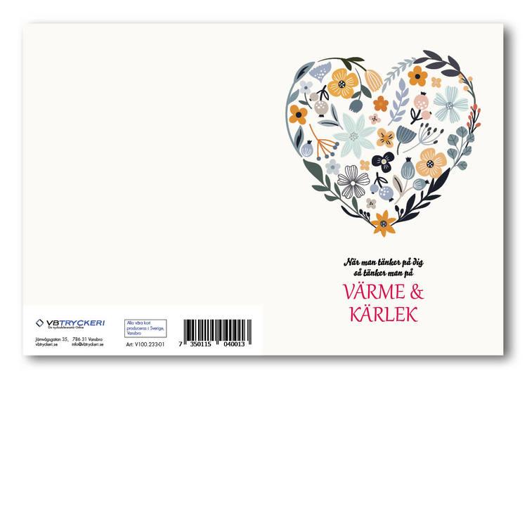 Grattiskort - Värme & Kärlek V100.233-01