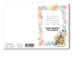 Grattiskort - Stort grattis till barnet V100.238-01