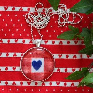 Ett blått hjärta