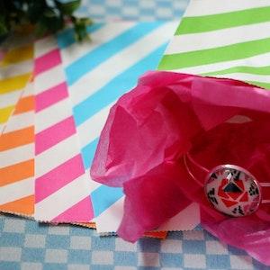 Presentpåse, rosa