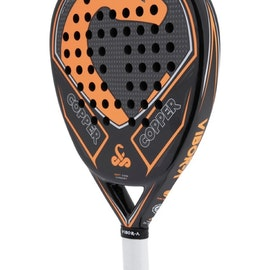 Vibor-A      copperhead svart/orange    Ett kraftfullt racket
