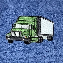 Lastbil grön
