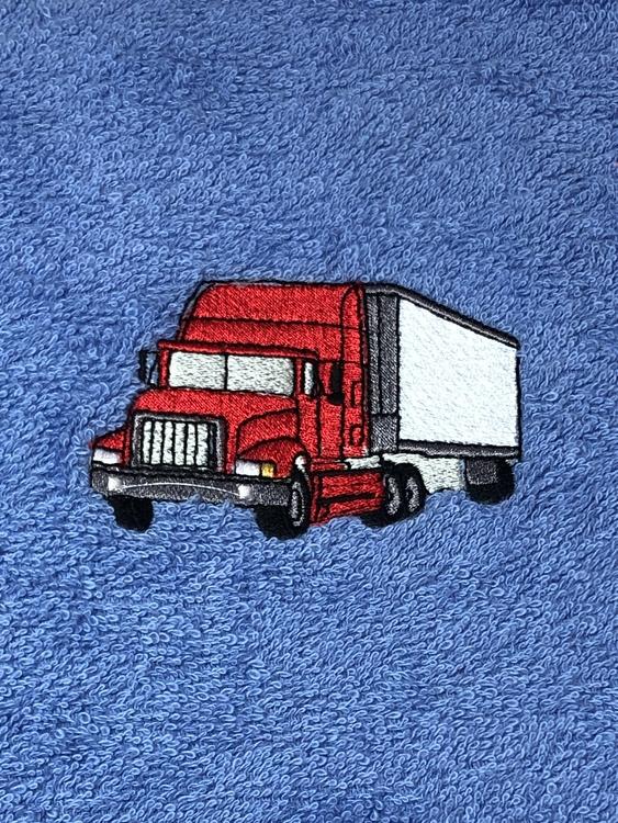 Lastbil röd