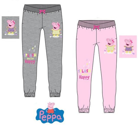 Greta Gris / Peppa pig Joggingbyxa / Mjukisbyxa med paljetter