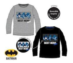 Batman Långärmad tröja med paljetter